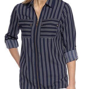 MICHAELKors  Bengal Striped Shirt